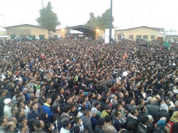 ازدحام جمعیت در شهر مهران,اخبار اجتماعی,خبرهای اجتماعی,شهر و روستا