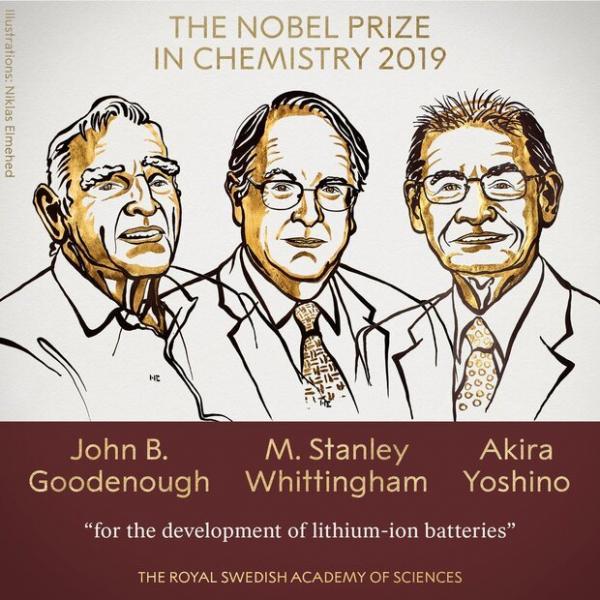 برندگان نوبل شیمی ۲۰۱۹,اخبار علمی,خبرهای علمی,پژوهش
