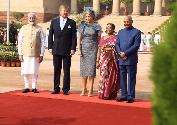 استقبال از پادشاه و ملکه هلند,اخبار سیاسی,خبرهای سیاسی,سیاست