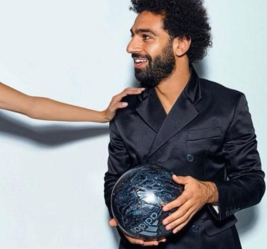 محمد صلاح و الِساندره آمبروسیو,اخبار فوتبال,خبرهای فوتبال,اخبار فوتبالیست ها