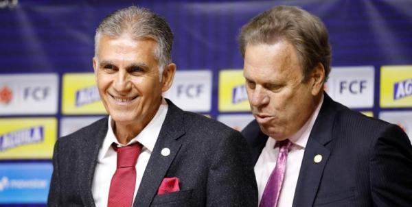 اختلافات کیروش و رئیس فدراسیون کلمبیا,اخبار فوتبال,خبرهای فوتبال,اخبار فوتبال جهان