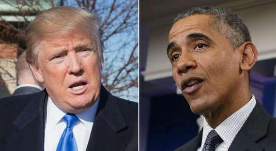 دونالد ترامپ و اوباما,اخبار سیاسی,خبرهای سیاسی,اخبار بین الملل
