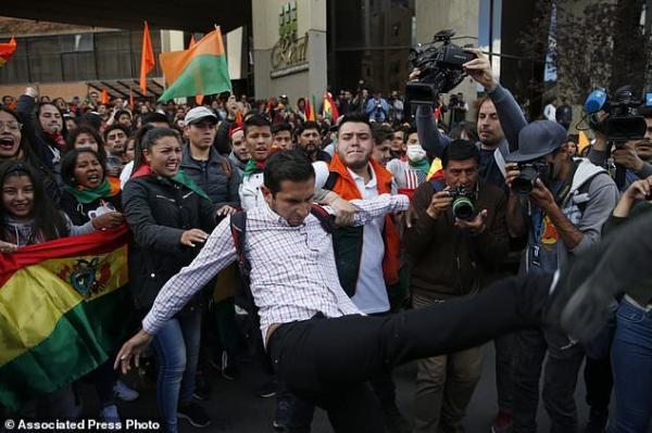 تشدید اعتراضات در بولیوی,اخبار سیاسی,خبرهای سیاسی,اخبار بین الملل