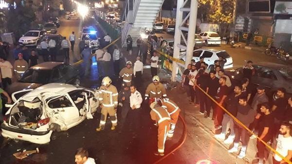 حادثه تصادف در تهران,اخبار حوادث,خبرهای حوادث,حوادث