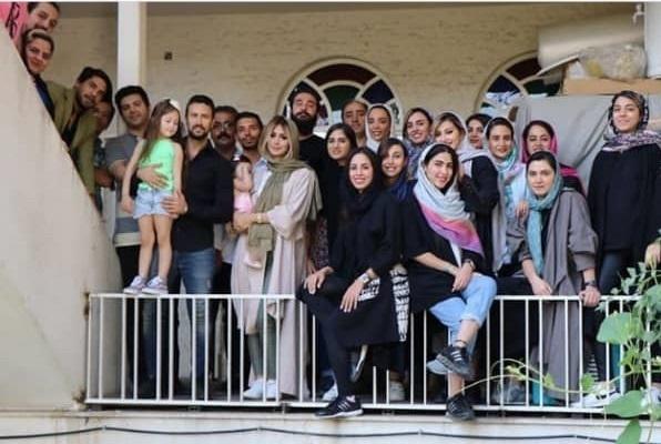 شاهرخ استخری و همسرش,اخبار هنرمندان,خبرهای هنرمندان,بازیگران سینما و تلویزیون