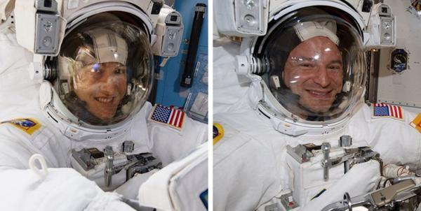 پیادهروی فضانوردان ناسا,اخبار علمی,خبرهای علمی,نجوم و فضا