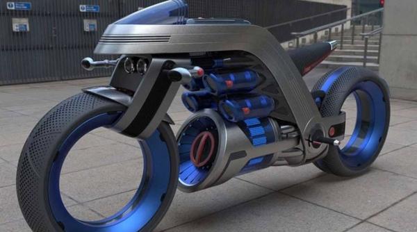 طرح مفهومی موتور برقی جدید,اخبار خودرو,خبرهای خودرو,وسایل نقلیه