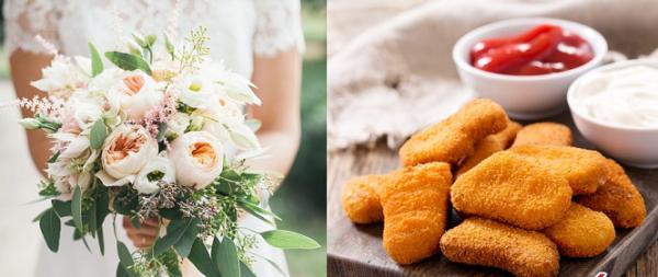 عجیب ترین دسته گل عروس,اخبار جالب,خبرهای جالب,خواندنی ها و دیدنی ها