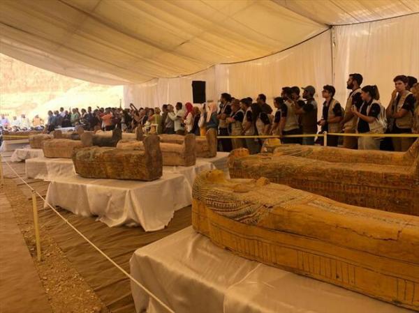 تابوت مومیایی جدید در مصر,اخبار جالب,خبرهای جالب,خواندنی ها و دیدنی ها