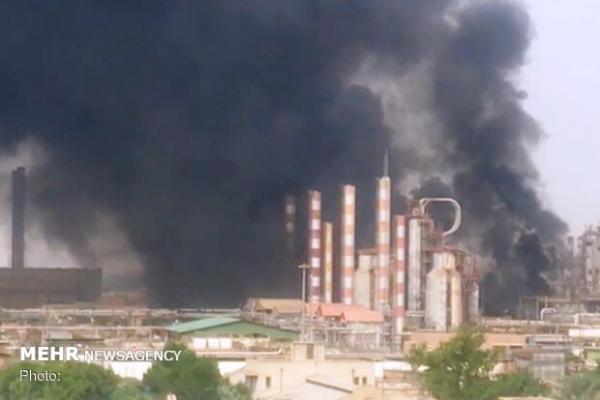 آتش سوزی در پالایشگاه آبادان,اخبار حوادث,خبرهای حوادث,حوادث امروز