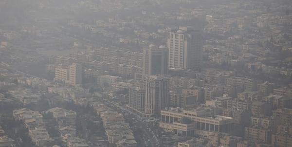 آلودگی در تهران,اخبار اجتماعی,خبرهای اجتماعی,وضعیت ترافیک و آب و هوا