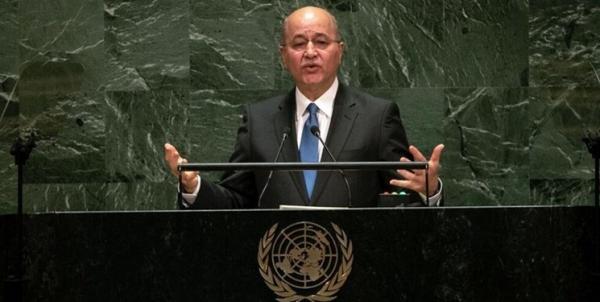 پیشنهاد رئیسجمهور عراق برای برگزاری نشستی در رابطه با ایران و آمریکا