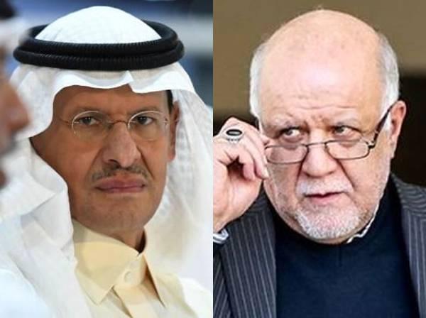 دیدار زنگنه و وزیر نفت عربستان,اخبار اقتصادی,خبرهای اقتصادی,نفت و انرژی
