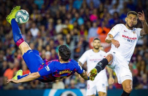 دیدار بارسلونا و سویا,اخبار فوتبال,خبرهای فوتبال,اخبار فوتبال جهان