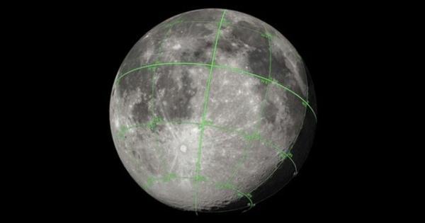 نقشه ۳ بعدی ماه,اخبار علمی,خبرهای علمی,نجوم و فضا