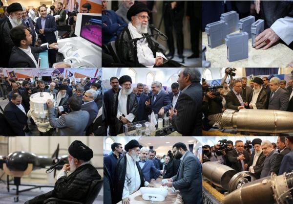 رهبر انقلاب در نمایشگاه شرکتهای دانشبنیان وفناوریهای برتر,اخبار سیاسی,خبرهای سیاسی,اخبار سیاسی ایران