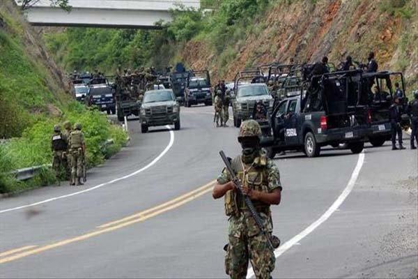 14 نیروی پلیس در غرب مکزیک کشته شدند