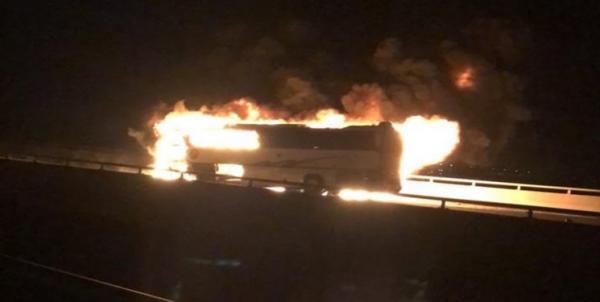 تصادف اتوبوس حجاج در مدینه منوره,اخبار حوادث,خبرهای حوادث,حوادث