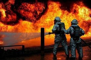 آتشسوزی یک ساختمان مسکونی در روسیه,اخبار حوادث,خبرهای حوادث,حوادث امروز