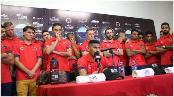 اعتصاب بازیکنان فوتبال در لیگ مکزیک,اخبار فوتبال,خبرهای فوتبال,اخبار فوتبال جهان