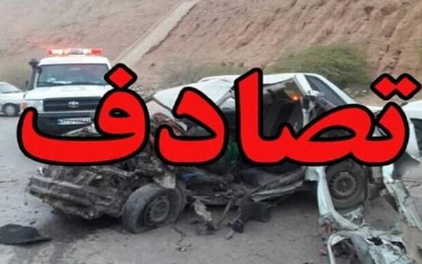 تصادف در فارس,اخبار حوادث,خبرهای حوادث,حوادث