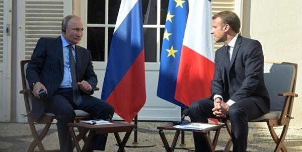 مکرون و پوتین,اخبار سیاسی,خبرهای سیاسی,خاورمیانه