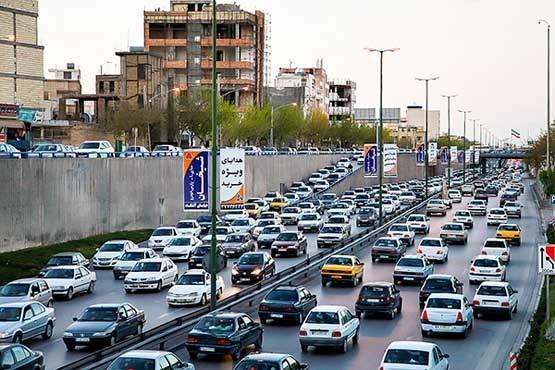 ترافیک در اصفهان,اخبار اجتماعی,خبرهای اجتماعی,وضعیت ترافیک و آب و هوا