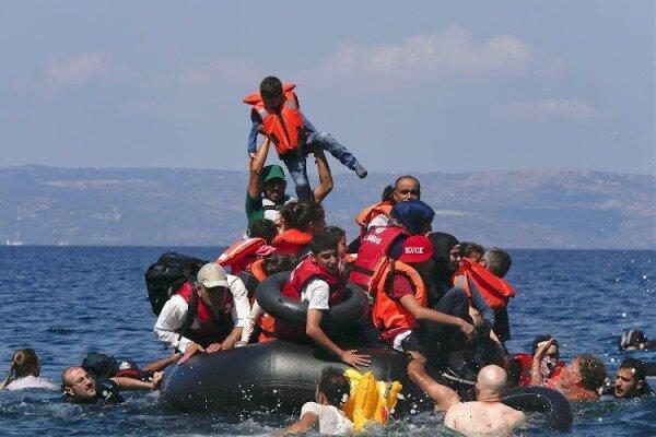 واژگونی قایق مهاجران در سواحل لیبی,اخبار حوادث,خبرهای حوادث,حوادث
