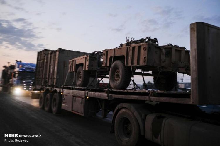 تصاویر خروج نیروهای آمریکایی از سوریه,عکس های نیروهای آمریکایی,تصاویر وضعیت امنیتی در سوریه
