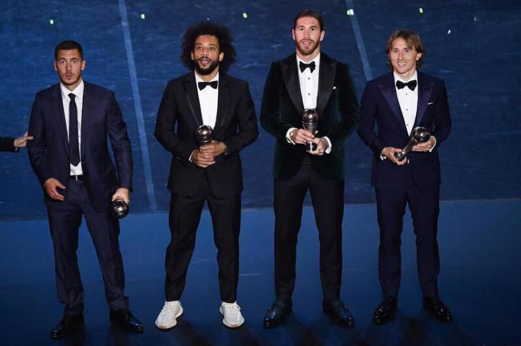 تصاویر مراسم برترینهای فوتبال جهان,عکس های مراسم برترینهای فوتبال جهان,تصاویر برترینهای فوتبال جهان در سال 2019