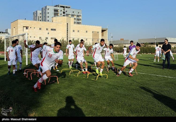تصاویر تمرینات تیم ملی فوتبال امید,عکس های تمرینات تیم ملی فوتبال امید,تصاویر حمید استیلی