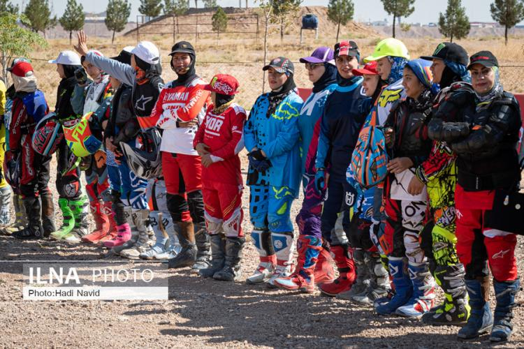 تصاویر مسابقات موتور کراس بانوان ایران,عکس های مسابقات موتور کراس بانوان ایران,تصاویر بانوان موتورسوار