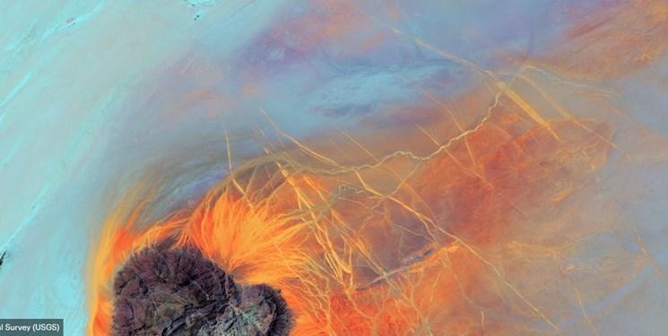 تصاویر ناسا از دریاچه ها,عکس های ناسا ازیخچال های طبیعی,تصاویر حیرتانگیز ناسا