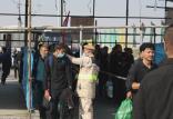 تردد زائران از مرز شلمچه,اخبار مذهبی,خبرهای مذهبی,حج و زیارت