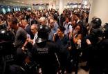 درگیری مردم و پلیس در کاتالونیا,اخبار سیاسی,خبرهای سیاسی,اخبار بین الملل