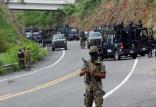 کشته شدگان پلیس ها در غرب مکزیک,اخبار سیاسی,خبرهای سیاسی,اخبار بین الملل