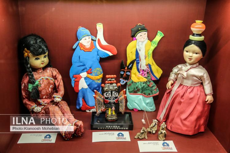 تصاویر موزه عروسکهای ملل,عکس های موزه عروسکهای ملل,تصاویر انواع عروسکهای فرهنگی