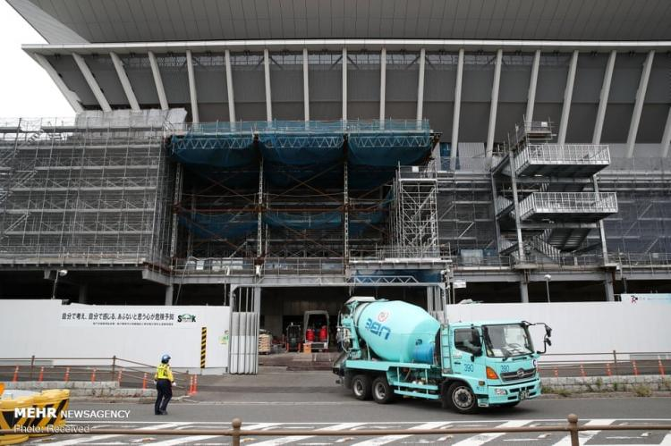 تصاویر آماده سازی توکیو برای المپیک,عکس های آماده سازی توکیو برای المپیک,تصاویر رقابت های المپیک ۲۰۲۰ توکیو