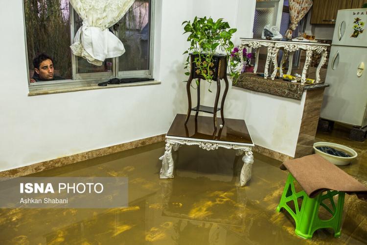 تصاویر سیل در روستای شیخ محله,عکس های سیل در روستای شیخ محله, تصاویر خسارات سیل در روستای شیخ محله