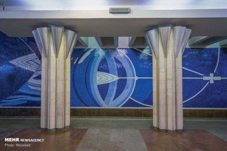 تصاویر ایستگاه های متروی اتحاد جماهیر شوروی,عکس های ایستگاه های متروی اتحاد جماهیر شوروی,تصاویر ایستگاه های مترو