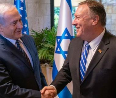 دیدار بنیامین نتانیاهو و مایک پامپئو,اخبار سیاسی,خبرهای سیاسی,سیاست خارجی