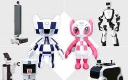کاربرد رباتها در بازیهای المپیک توکیو
