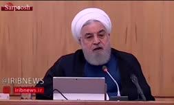 فیلم/ روحانی: برای هرگونه فداکاری آمادهام؛ حداقل اعتماد را در جماعت کنونی کاخ سفید ندیدم