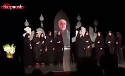 فیلم/ تکخوانی دخترمحجبه در مراسم گرامیداشت شهدا