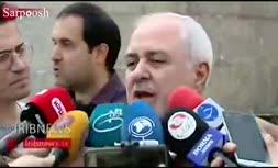 فیلم/ ظریف: طرح ۴ ماده ای رئیس جمهوری فرانسه حاوی دیدگاههای ما نیست