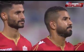 فیلم/ رفتار توهین آمیز تماشاگران بحرینی هنگام سرود تیم ملی