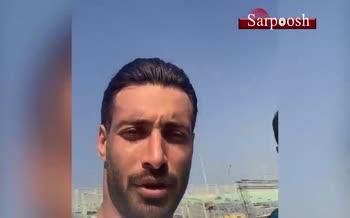 فیلم/ واکنش شجاع خلیل زاده به خبر دعوا با علی علیپور در تمرین پرسپولیس