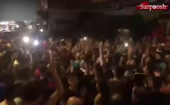 فیلم/ تظاهرات مردم لبنان علیه حریری