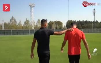 فیلم/ گفتگوی بامزه و دیدنی با میلاد و مهرداد محمدی (برنامه فوتبال برتر)