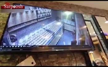 فیلم/ سرقت نافرجام از طلا فروشی در میناب